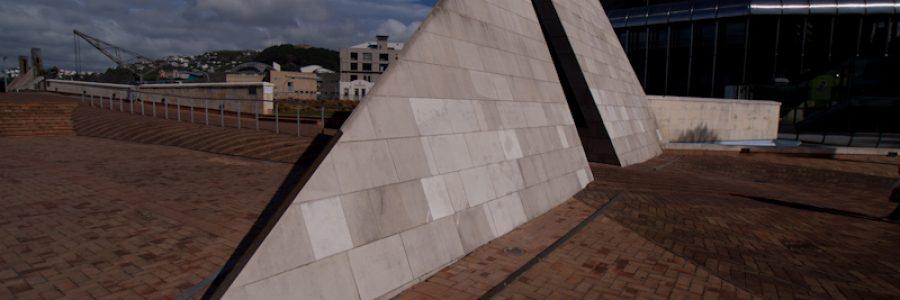 Piece of art in Wellington