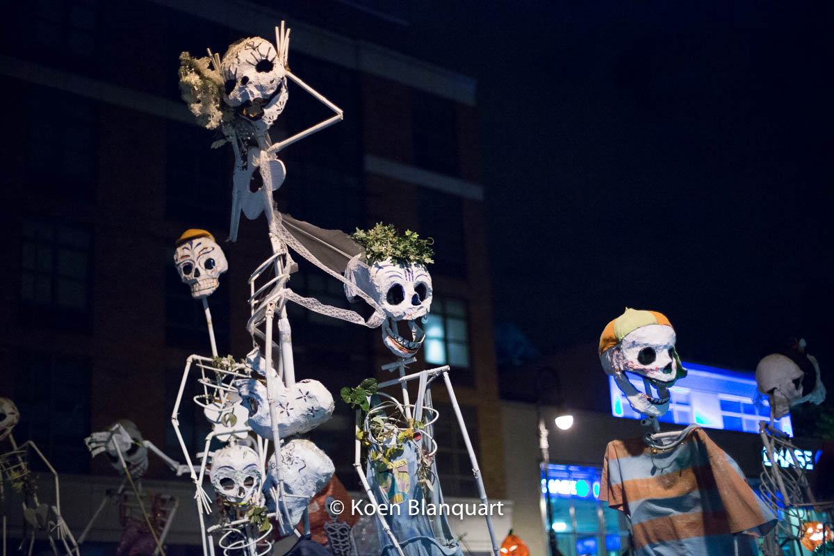Halloween Parade NYC 2014