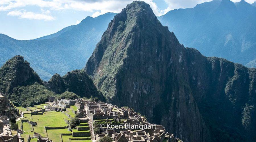 Machu Picchu, the visit