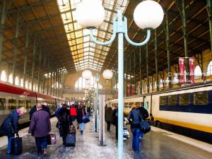 Train - Railway Station - gare du nord, Paris