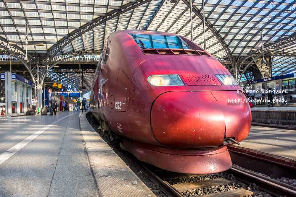 Thalys train in Cologne (Koln), Germany