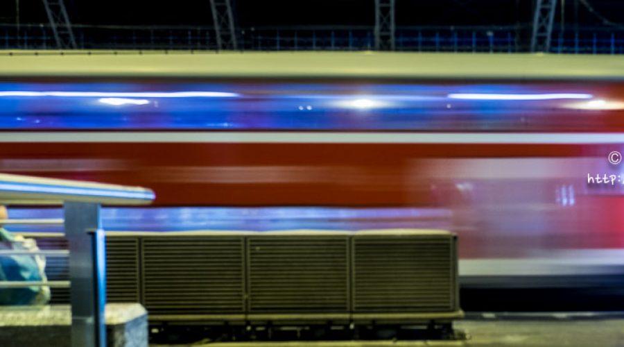 Night train between Cologne (Koln) and Berlin