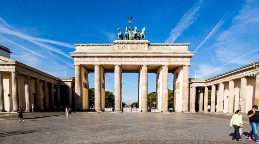 A stop in Berlin, Germany