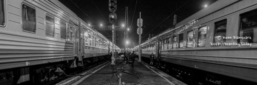 Trans Siberian Railway – Leg 1 – Moscow to Yekaterinburg