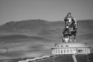 Face to face with Genghis Khan