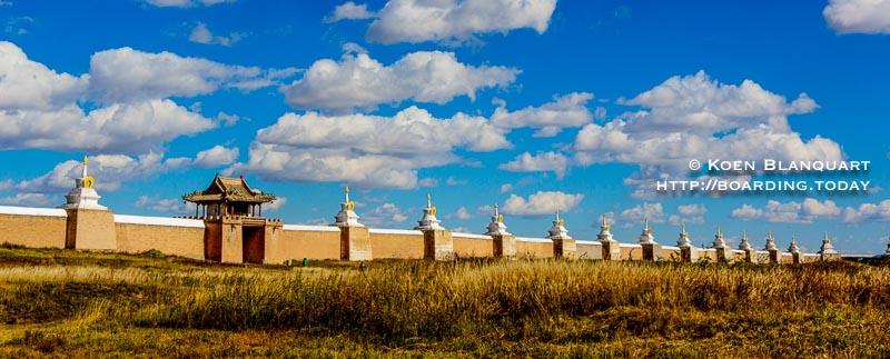 Karakorum, the old capital of Mongolia