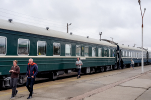 Trans Mongolian Train – heading for Beijing