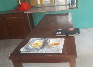 My breakfast table