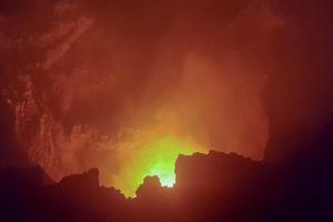 Massaya, a live volcano in Nicaragua- The devil's gates –