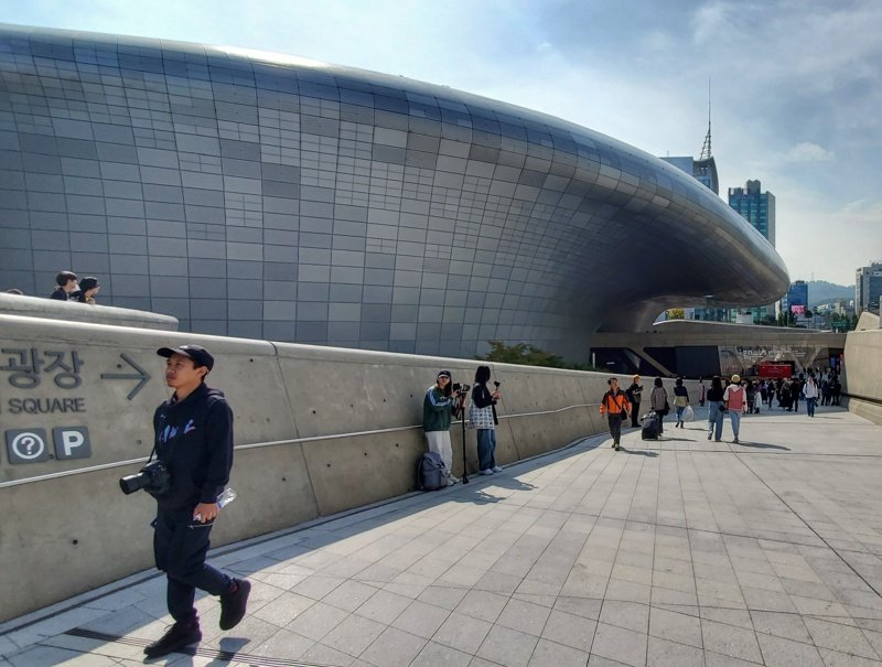 Things to visit in Seoul: The Dongdaemun Design Plaza is