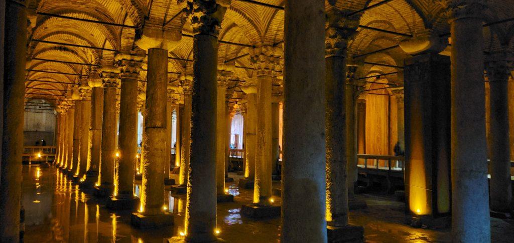 Underground Basilica cistern - worth a visit, Istanbul