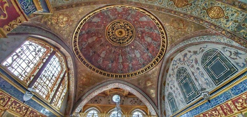 Ceiling in the Topkapi Harem