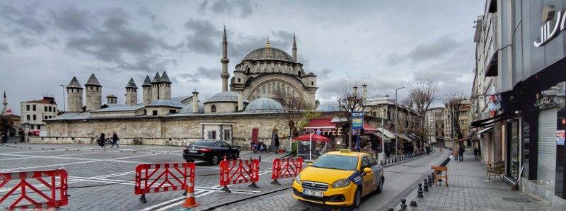 Traffic in Istanbul