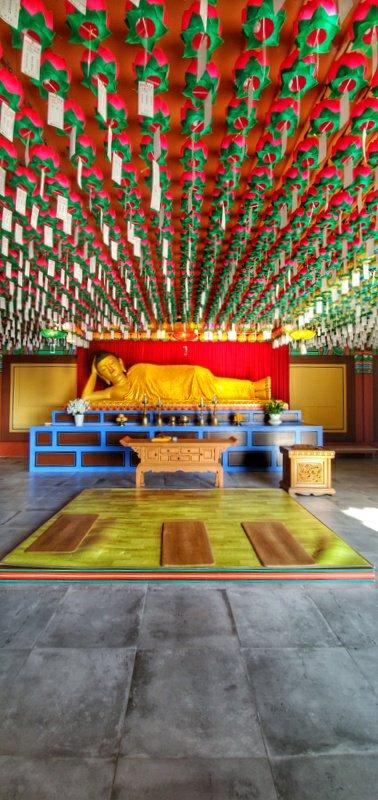 buddha in Haedong Yonggungsa Temple, Busan, South-Korea